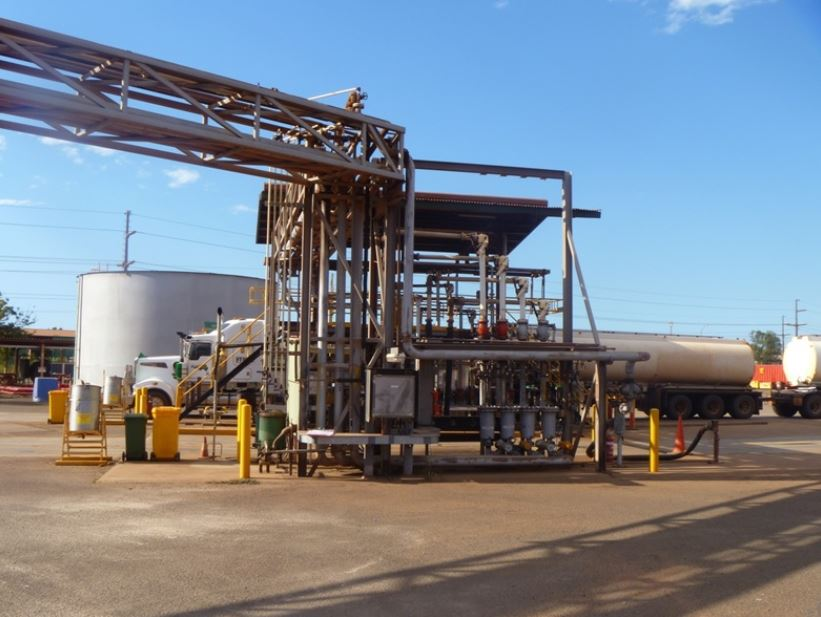 BP PORT HEDLAND DIESEL ADDITIVE INJECTION
